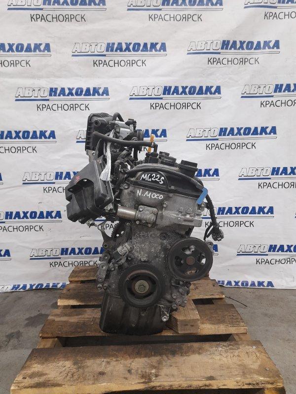 Двигатель Nissan Moco MG22S K6A 2006 A276248 K6A № A276248. Пробег 47т.км. Без выпускного коллектора,