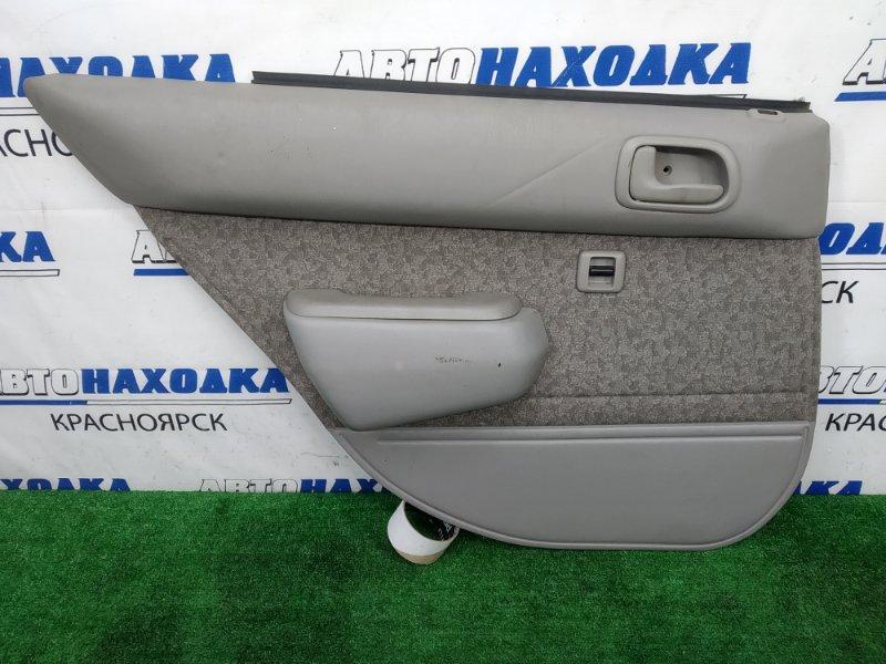 Обшивка двери Toyota Corolla AE110 5A-FE 1997 задняя левая с задней левой двери, серая