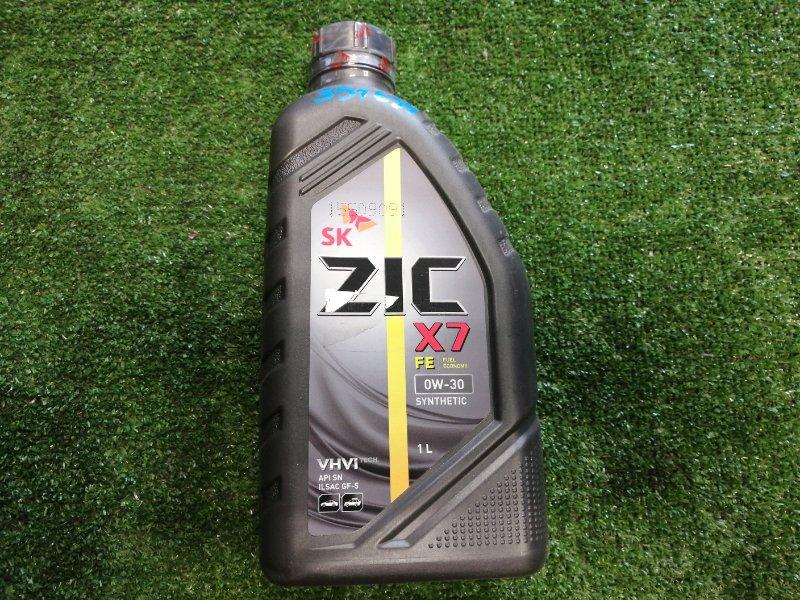 Масло моторное ZIC X7 FE 0W30 синт 1л