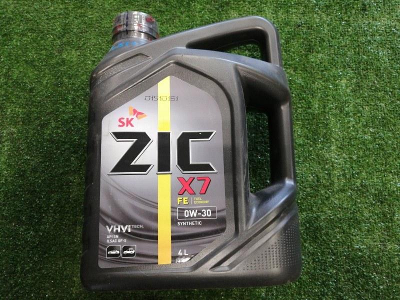 Масло моторное ZIC X7 FE 0W30 синт 4л