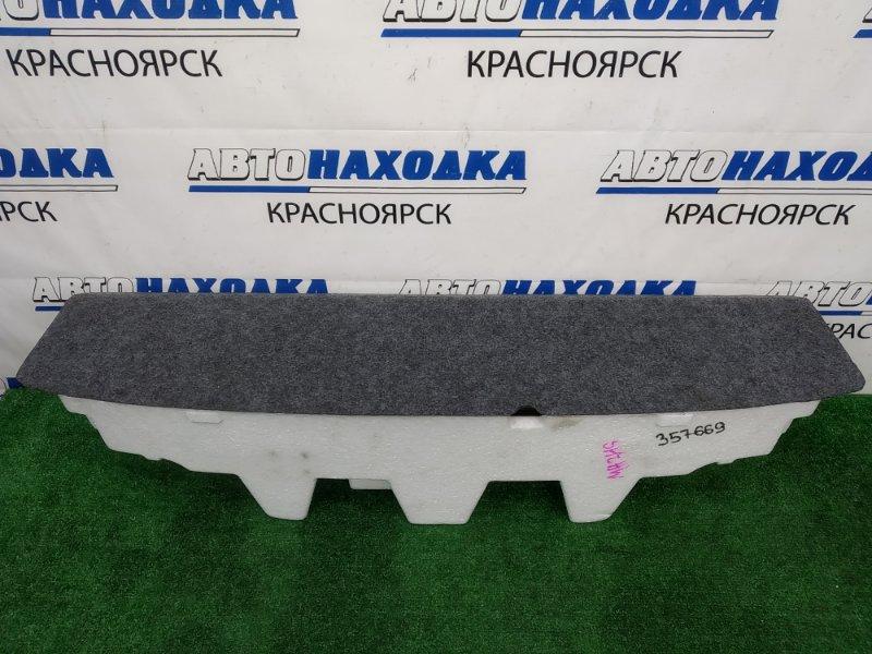 Пол багажника Suzuki Wagon R MH34S R06A 2012 ХТС, пенопластовый ящик багажника с крышкой
