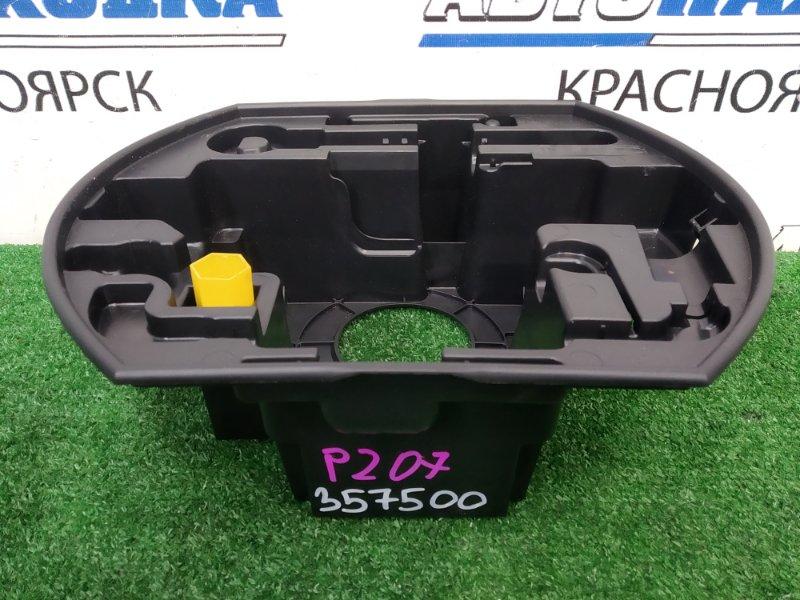 Бокс под инструменты Peugeot 207 WC EP6C 2007 штатная пластиковая емкость под инструменты