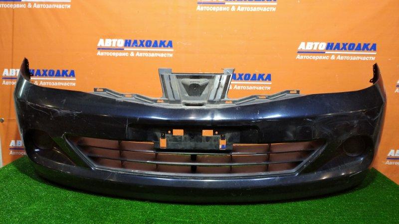 Бампер Nissan Tiida С11 HR15DE 2008 передний 2 мод. под покраску без решетки+заглушки