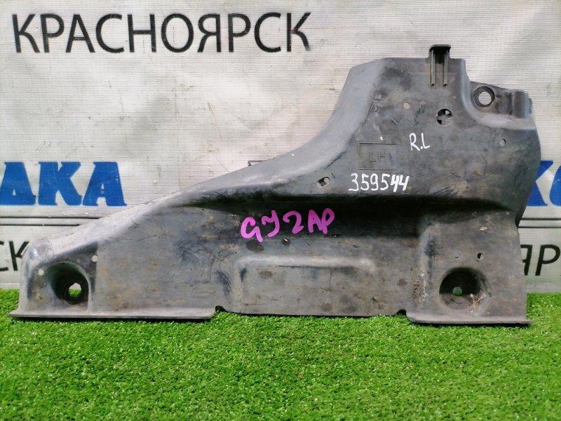Защита Mazda Atenza GJ2AP SH-VPTR 2015 задняя левая GHP956077 днища, левая, маленькая