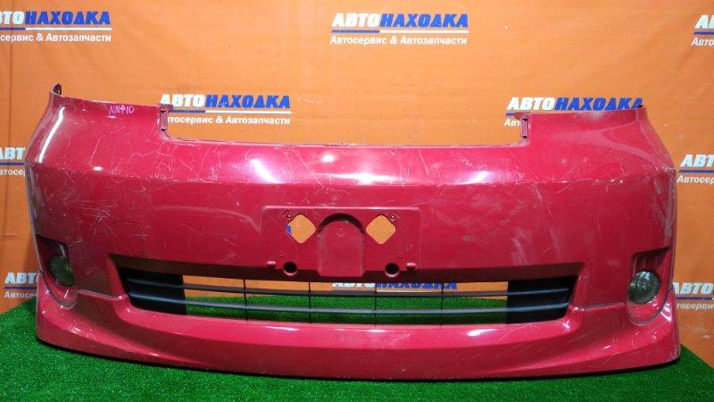 Бампер Toyota Porte NNP10 2NZ-FE 2004 передний 42-34 под покраску +губа +туманки 42-34