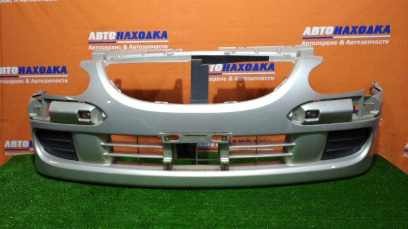 Бампер Toyota Duet M101A K3-VE 2001 передний цвет S26хтс 2-й рестайлинг под полировку с хром