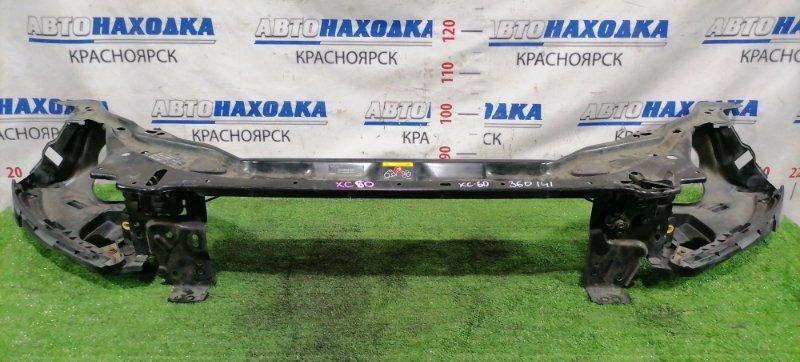 Рамка радиатора Volvo Xc60 DZ99 B6304T2 2008 С замками капота, с планками под фары