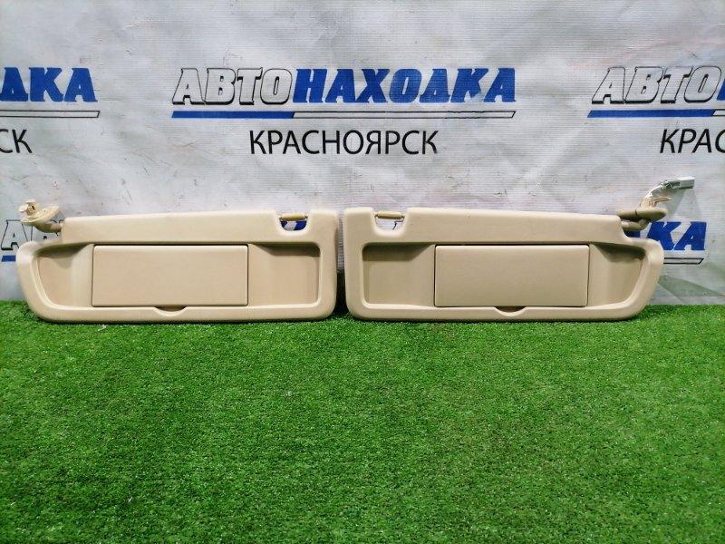 Козырек солнцезащитный Honda Civic FD1 R18A 2005 пара L+R, с зеркалами, в хорошем состоянии.