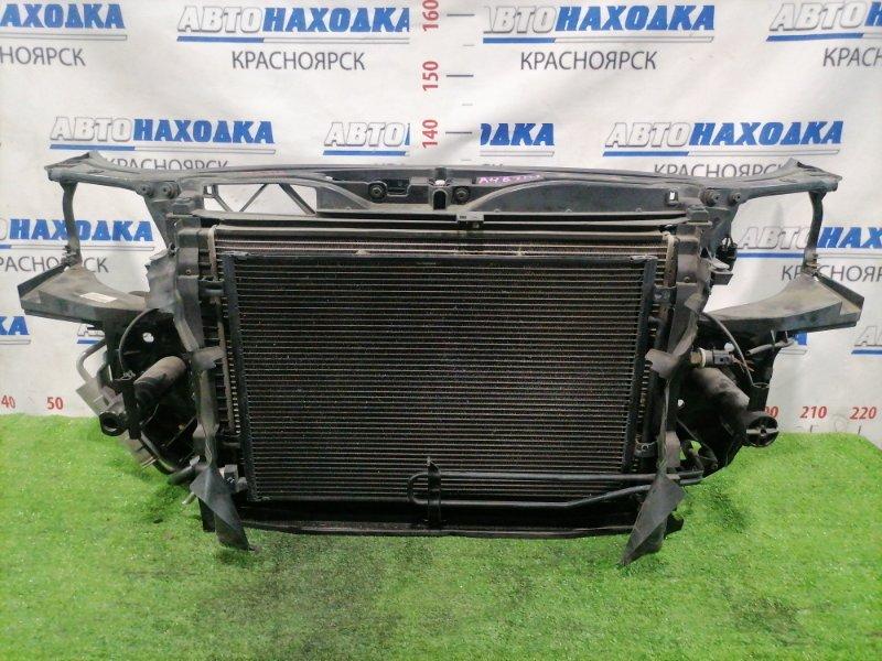Рамка радиатора Audi A4 B7 ALT 2004 В сборе, с радиаторами, диффузором, вентиляторами,