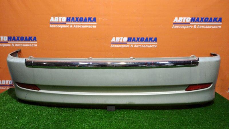 Бампер Toyota Duet M101A K3-VE 2001 задний цвет S26хтс 2-й рестайлинг есть потертости+накладка с