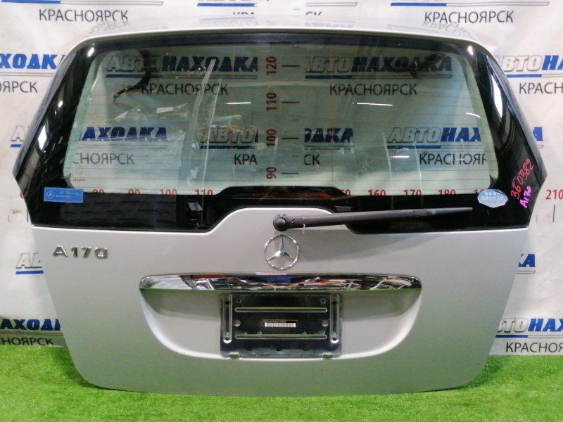 Дверь задняя Mercedes-Benz A170 169.032 266.940 2004 задняя В сборе, цвет: 761U, с щеткой, есть 3 мелких