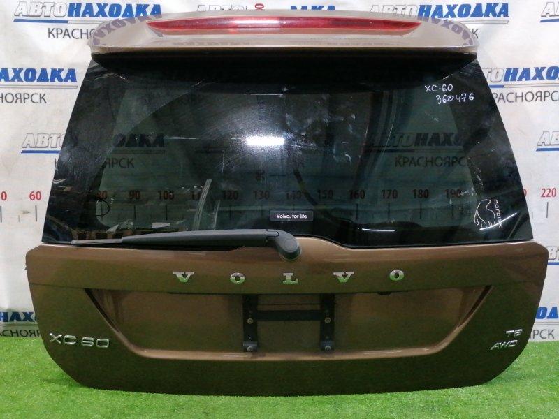 Дверь задняя Volvo Xc60 DZ99 B6304T2 2008 задняя Вся в сборе, цвет: 494, с камерой заднего вида,