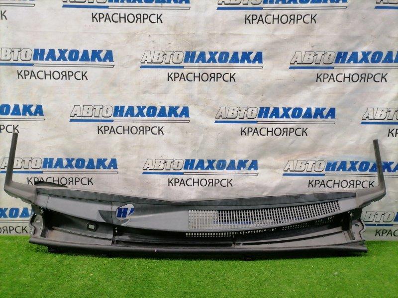 Ветровая панель Toyota Vitz KSP130 1KR-FE 2010 с уголками