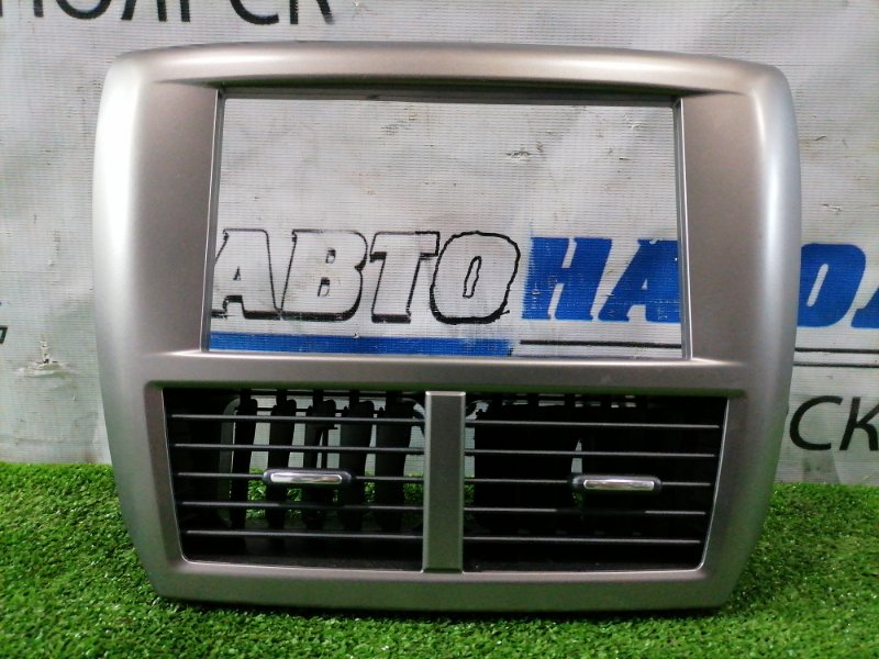 Консоль магнитофона Subaru Impreza GH2 EL15 2007 Серая (под 2din), с дефлекторами обдува. ХТС, все