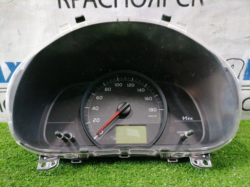 Щиток приборов Toyota Vitz KSP130 1KR-FE 2010 83800-5CB22 Дорестайлинг, без тахометра, с фишками,