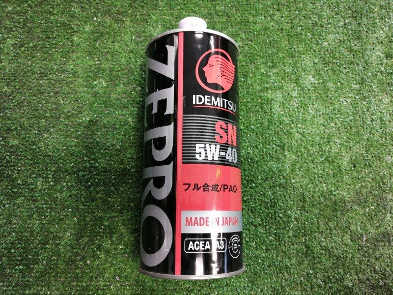 Масло моторное IDEMITSU Zepro Racing 5W40 SN 1л