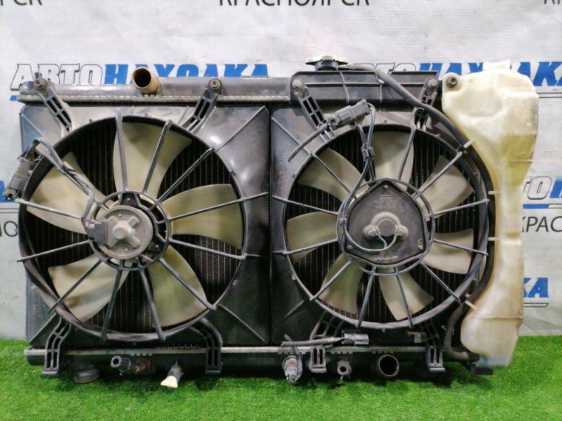 Радиатор двигателя Honda Cr-V RD5 K20A 2001 422000-2130 под АКПП, с диффузорами и вентиляторами +