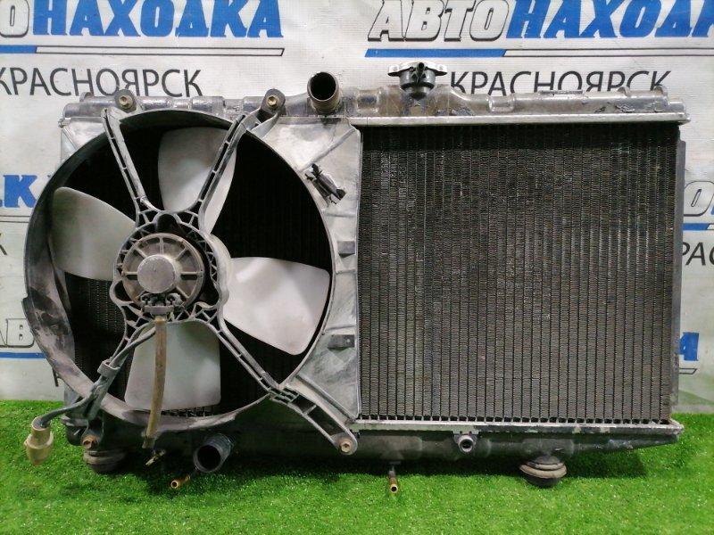 Радиатор двигателя Toyota Sprinter AE91 5A-FE 1987 422190-6240 Под АКПП, есть небольшой скол на