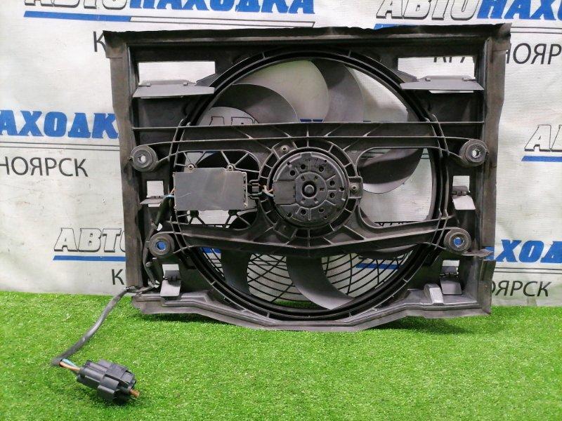 Вентилятор радиатора Bmw 320I E46 M54 B22 1999 6904768 с диффузором и блоком управления