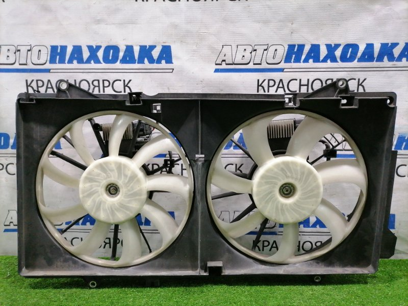 Вентилятор радиатора Mazda Atenza GJ2AP SH-VPTR 2015 Два вентилятора с диффузором и двумя