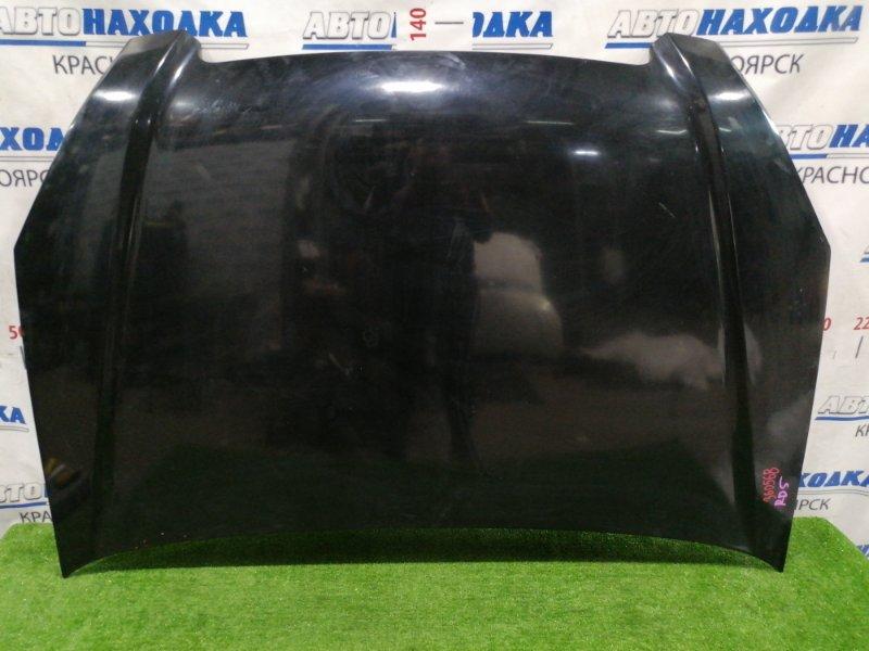 Капот Honda Cr-V RD5 K20A 2001 передний цвет: B92P, есть мелкие потертости до металла, царапины
