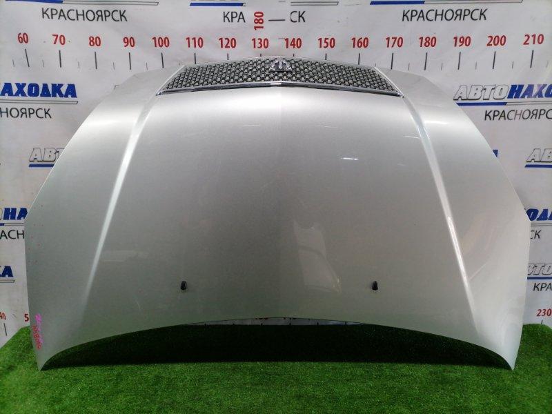 Капот Toyota Opa ZCT10 1ZZ-FE 2000 передний С дорестайлинговой решеткой, цвет 1C0, есть 2 царапины