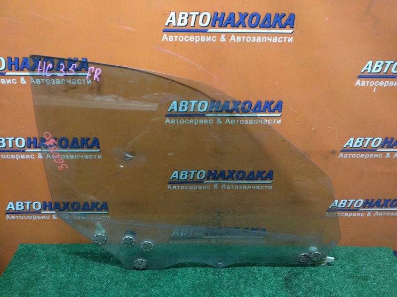 Стекло боковое Nissan Laurel HC35 RB20DE 05.2001 переднее правое
