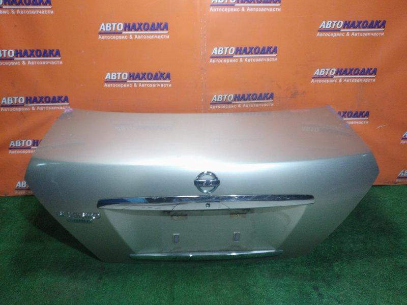 Крышка багажника Nissan Bluebird Sylphy FG10 QG15DE 10.2003
