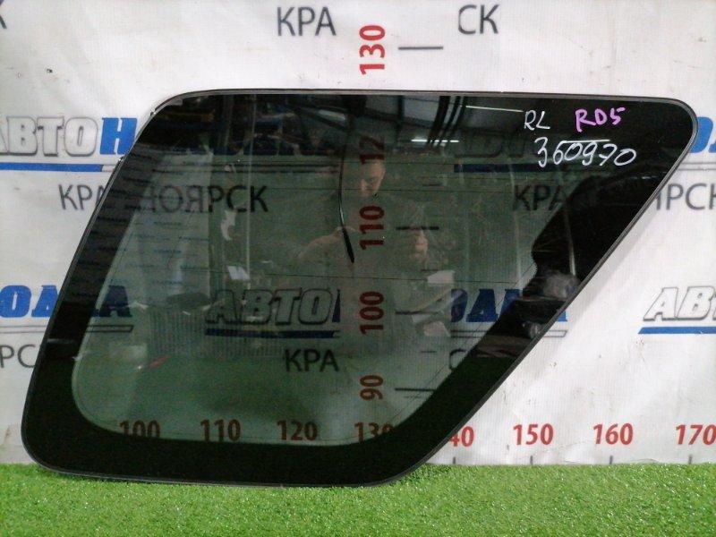 Стекло собачника Honda Cr-V RD5 K20A 2001 заднее левое Левое, заводская тонировка, есть
