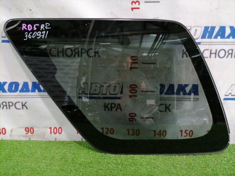 Стекло собачника Honda Cr-V RD5 K20A 2001 заднее правое Правое, заводская тонировка, есть