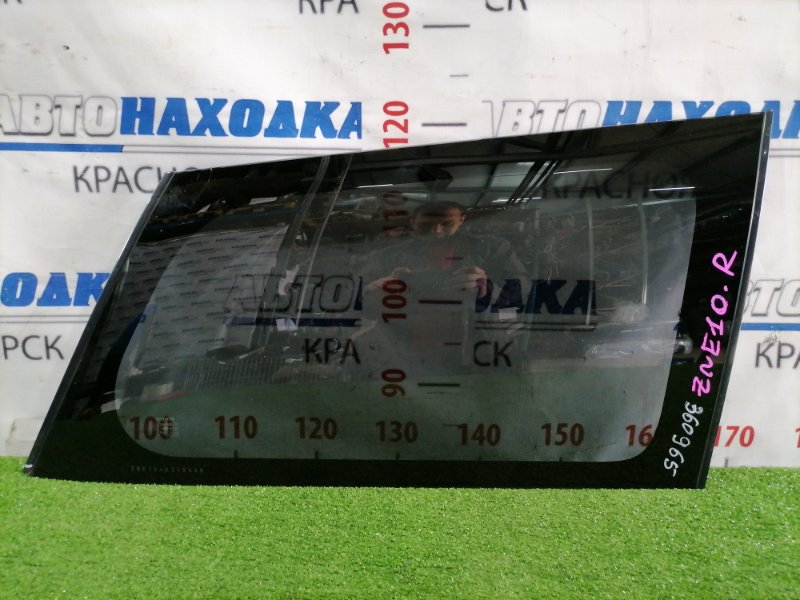 Стекло собачника Toyota Wish ZNE10G 1ZZ-FE 2005 заднее правое Правое, заводская тонировка, есть