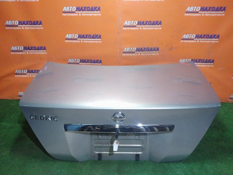 Крышка багажника Nissan Cedric MY34 VQ25 2002