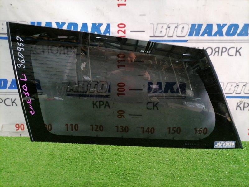Стекло собачника Toyota Wish ZNE10G 1ZZ-FE 2005 заднее левое Левое, заводская тонировка