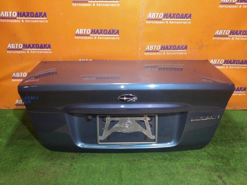Крышка багажника Subaru Legacy BL5 EJ204 03.2004 Правый уголок немного подзамят, есть коцка