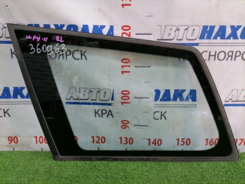 Стекло собачника Nissan Wingroad WFY11 QG15DE 2001 заднее левое Левое