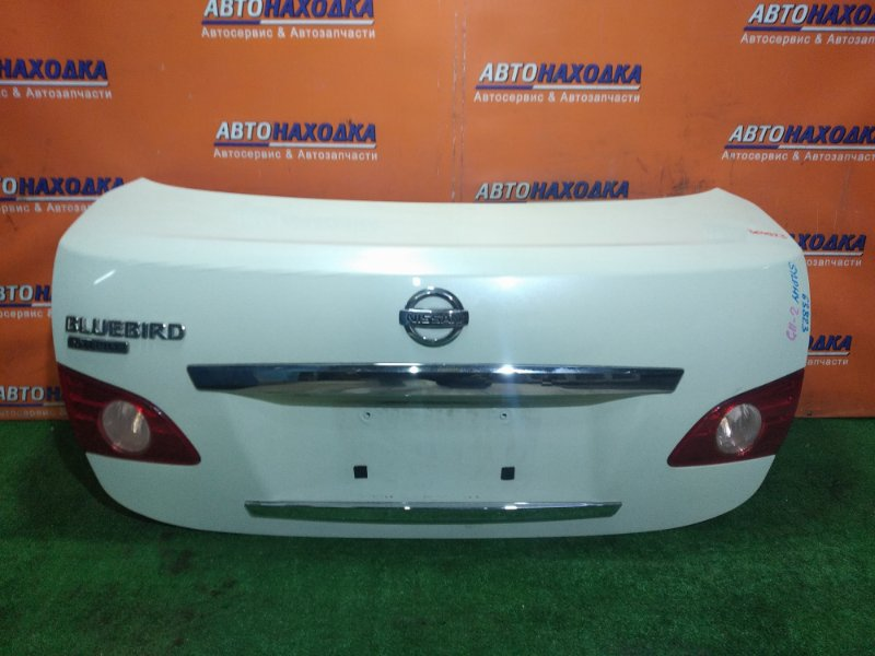 Крышка багажника Nissan Bluebird Sylphy KG11 MR20DE 02.2006 63823
