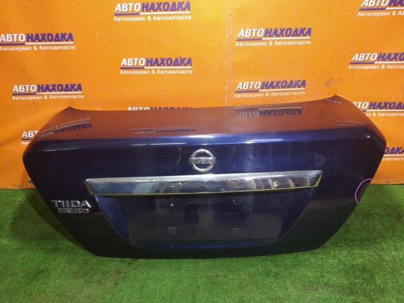 Крышка багажника Nissan Tiida Latio C11 HR15DE