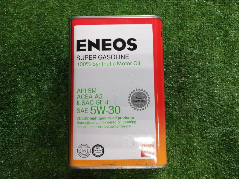 Масло моторное ENEOS Super Gasoline SL 5W30 1л