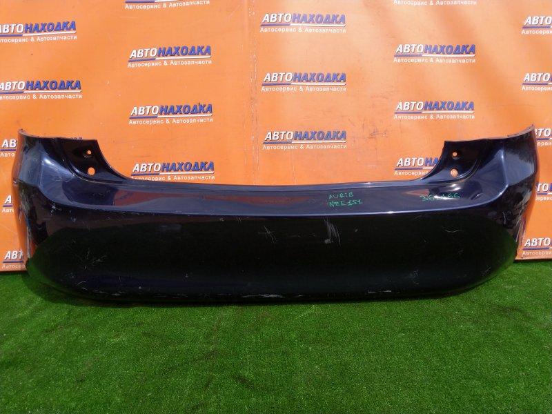 Бампер Toyota Auris NZE151 1NZ-FE задний 52159-12A40 1MOD. ДО РЕСТАЙЛИНГ