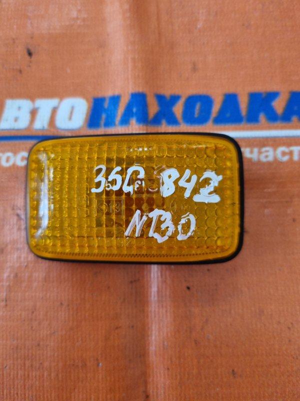 Повторитель в крыло Nissan X-Trail NT30 QR20DE 2000 5320 оранжевый без фишки