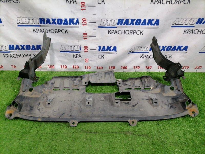 Защита двс Honda Cr-V RD5 K20A 2001 передняя Сплошная, есть дефект 2 креплений