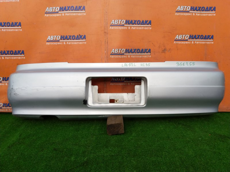 Бампер Nissan Laurel HC34 RB20E 03.1995 задний 85022-48T00 ПОШЕРКАН. ПОД ПОКРАСКУ