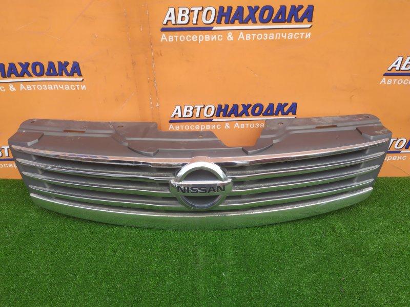 Решетка радиатора Nissan Bluebird Sylphy KG11 MR20DE 02.2006 62310-EW000