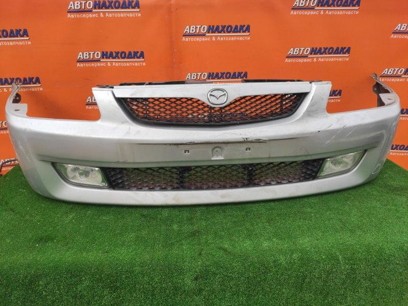 Бампер Mazda Familia BJ5W ZL-VE 15.05.2000 передний B25HH50031 +РЕШЕТКА+ТУМАНКИ! 1МОД
