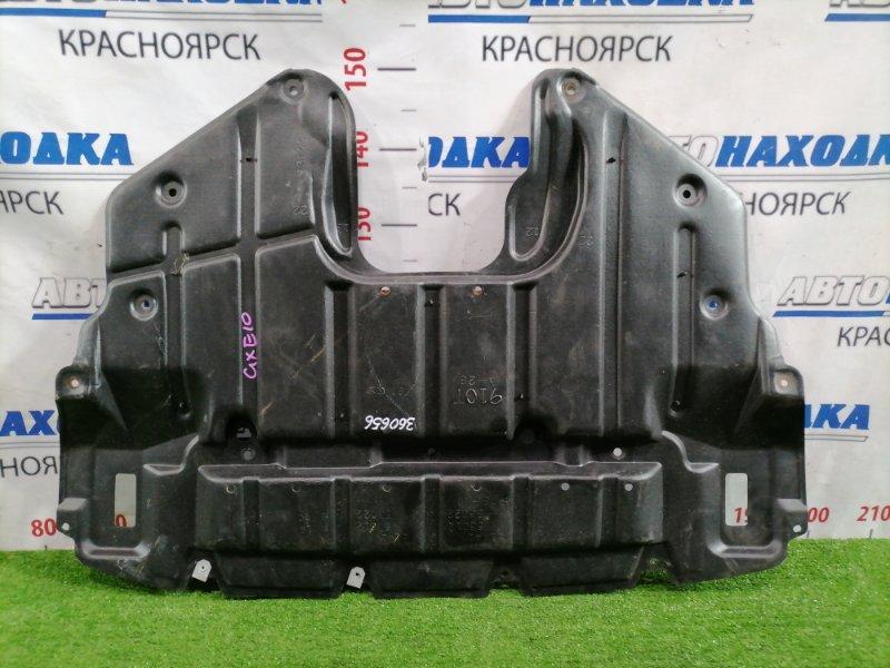 Защита двс Toyota Altezza GXE10 1G-FE 2001 передняя сплошная
