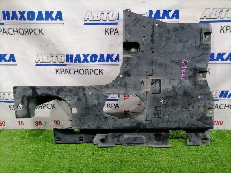 Защита двс Mazda Atenza GJ2AP SH-VPTR 2015 передняя левая левая.