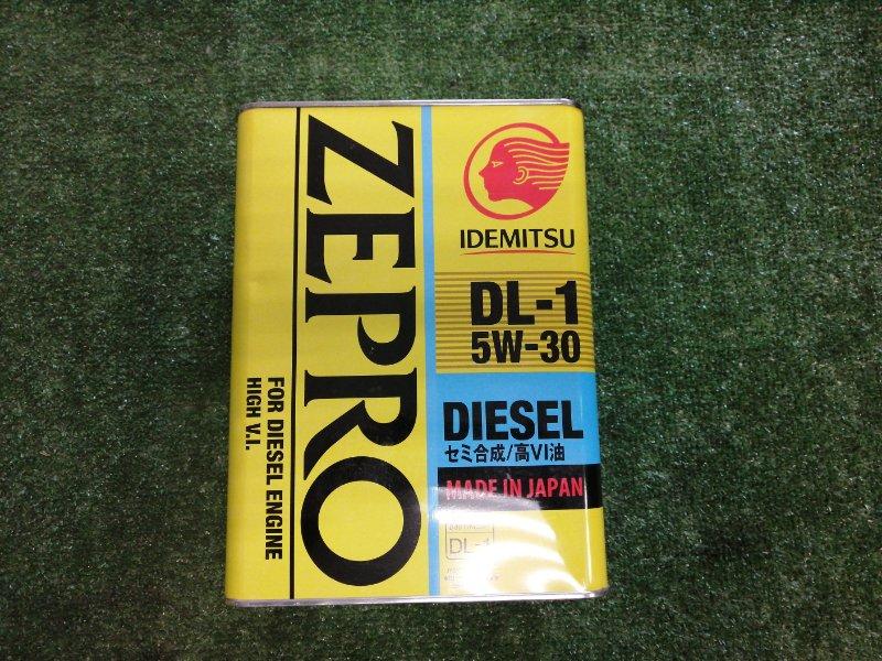 Масло моторное IDEMITSU Zepro Diesel 5W30 DL-1 4л