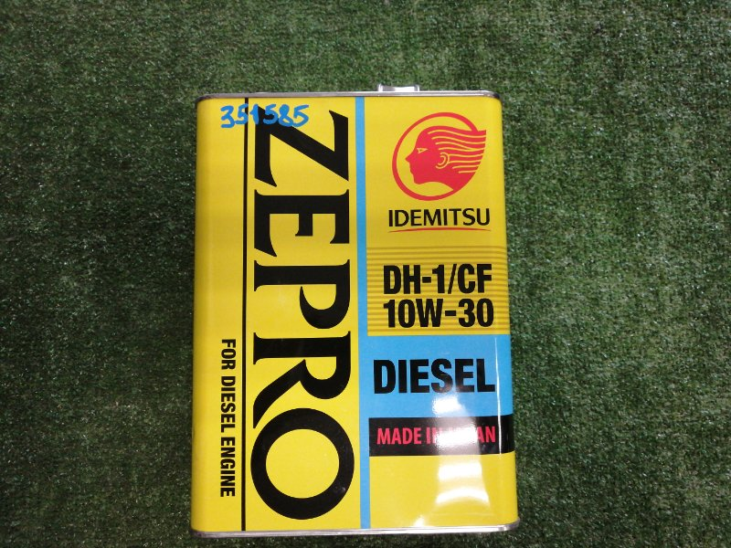 Масло моторное IDEMITSU Zepro Diesel 10W30 DH-1/CF 4л