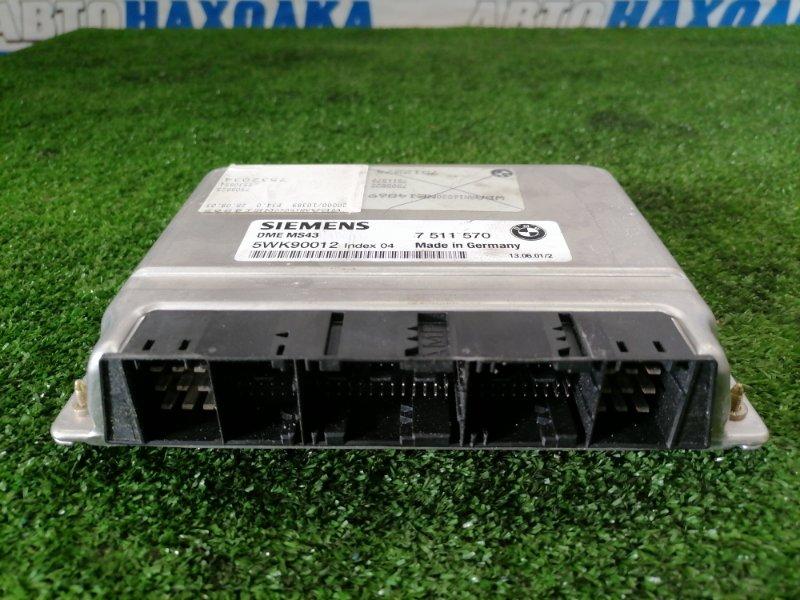 Компьютер Bmw 320I E46 M54 B22 1999 5WK90012, 7532034 блок управления ДВС
