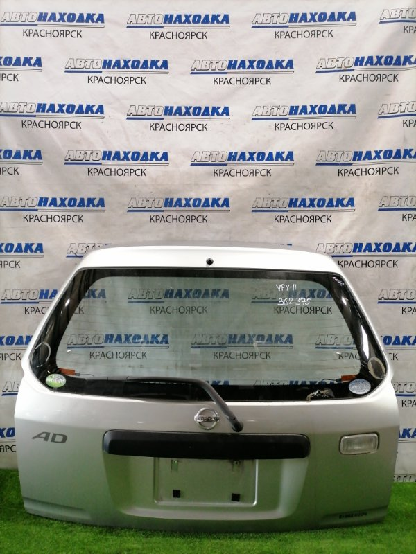 Дверь задняя Nissan Ad VFY11 QG15DE 2002 задняя В сборе, рестайлинг, (2 мод), под метлу, цвет KY0.